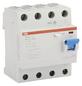 ABB Fehlerstromschutzschalter, 4-polig, Grau, 40 A-Thumbnail