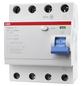 ABB Fehlerstromschutzschalter, F200, 4-polig 63/0,03 A, 63 A-Thumbnail