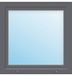 Meeth Fenster »77/3 MD«, Gesamtbreite x Gesamthöhe: 115 x 105 cm, Glassstärke: 33 mm, weiß/titan-Thumbnail