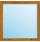 Meeth Fenster »77/3 MD«, Gesamtbreite x Gesamthöhe: 115 x 210 cm, Glassstärke: 33 mm, weiß/golden oak-Thumbnail