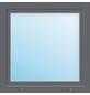 Meeth Fenster »77/3 MD«, Gesamtbreite x Gesamthöhe: 120 x 110 cm, Glassstärke: 33 mm, weiß/titan-Thumbnail