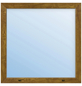 Meeth Fenster »77/3 MD«, Gesamtbreite x Gesamthöhe: 125 x 45 cm, Glassstärke: 33 mm, weiß/golden oak-Thumbnail