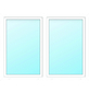 Meeth Fenster »77/3 MD«, Gesamtbreite x Gesamthöhe: 130 x 115 cm, Glassstärke: 33 mm, weiß-Thumbnail