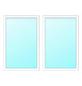 Meeth Fenster »77/3 MD«, Gesamtbreite x Gesamthöhe: 130 x 50 cm, Glassstärke: 33 mm, weiß-Thumbnail