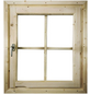 KARIBU Fenster für Gartenhäuser  »28 mm«, B x L x H: 79,5  x 69  x 6  cm-Thumbnail