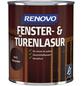 RENOVO Fenster- und Türenlasur, für innen & außen, 0,75 l, braun, seidenglänzend-Thumbnail