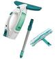 LEIFHEIT Fenstersauger »Dry & Clean«, weiß/türkis, 10 W-Thumbnail