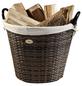 HABAU Feuerholzkorb, Braun | Beige, Rund, Durchmesser: 48 cm-Thumbnail