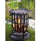 BUSCHBECK Feuerkorb »Barcelona«, Ø 40 cm, Höhe: 56  cm, schwarz, verchromt/pulverbeschichtet-Thumbnail