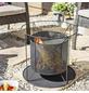 BUSCHBECK Feuerkorb »Kora«, Ø 44 cm, Höhe: 41  cm, schwarz-Thumbnail