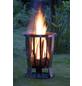 LANDMANN Feuerkorb, Ø 55 cm, Höhe: 69  cm, edelstahlfarben-Thumbnail