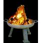 Feuerschale, Ø 55 cm, Höhe: 35  cm, stahlschwarz-Thumbnail
