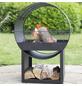 BUSCHBECK Feuerstelle »Porthole«, Höhe: 80 cm, schwarz-Thumbnail