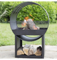 BUSCHBECK Feuerstelle »Porthole«, Höhe: 80  cm, schwarz, pulverbeschichtet-Thumbnail