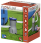 BESTWAY Filterpumpe »Flowclear«, 32 W, max. Förderleistung: 3028 l/h-Thumbnail