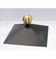 SKANHOLZ Firstkappe, 78,5 cm, schwarz-Thumbnail