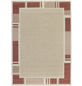 ANDIAMO Flachgewebe-Teppich »Louisiana«, BxL: 120 x 170 cm, beige/terrakottafarben-Thumbnail