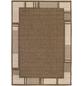 ANDIAMO Flachgewebe-Teppich »Louisiana«, BxL: 120 x 170 cm, braunbeige-Thumbnail