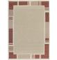 ANDIAMO Flachgewebe-Teppich »Louisiana«, BxL: 120 x 170 cm, terrakottafarben/beige-Thumbnail
