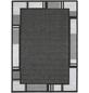 ANDIAMO Flachgewebe-Teppich »Louisiana«, BxL: 160 x 230 cm, anthrazit/silberfarben-Thumbnail