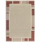 ANDIAMO Flachgewebe-Teppich »Louisiana«, BxL: 160 x 230 cm, terrakottafarben/beige-Thumbnail