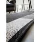 ANDIAMO Flachgewebe-Teppich »Louisiana«, BxL: 60 x 110 cm, anthrazit/silberfarben-Thumbnail