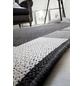 ANDIAMO Flachgewebe-Teppich »Louisiana«, BxL: 60 x 110 cm, silberfarben/anthrazit-Thumbnail