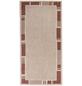 ANDIAMO Flachgewebe-Teppich »Louisiana«, BxL: 67 x 140 cm, terrakottafarben/beige-Thumbnail