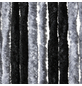 EXPLORER Flauschvorhang, Breite: 100 cm, silberfarben-Thumbnail