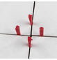CONNEX Fliesenkeile, Kunststoff, rot, 5,5 mm, 500 St.-Thumbnail