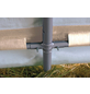 SHELTERLOGIC Folien-Gewächshaus, B x L x H: 240  x 240  x 240  cm, Stahl/Polyethylen (PE)-Thumbnail