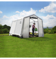 SHELTERLOGIC Folien-Gewächshaus, B x L x H: 300  x 300  x 240  cm, Stahl/Polyethylen (PE)-Thumbnail