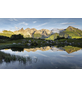 KOMAR Foto-Vliestapete »Allgäu Spiegel«, Breite 450 cm, seidenmatt-Thumbnail