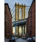 KOMAR Foto-Vliestapete »Brooklyn«, Breite 184 cm, inkl. Kleister-Thumbnail