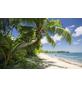 KOMAR Foto-Vliestapete »Fiji Dreams Boat «, Breite 450 cm, seidenmatt-Thumbnail