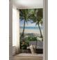 KOMAR Foto-Vliestapete »Palmy Beach«, Breite 200 cm, seidenmatt-Thumbnail