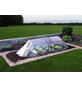 GardenGuard Frühbeet, B x L x H: 150 x 300 x 80 cm, Aluminium, farblos/transparent-Thumbnail