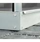 VITAVIA Fundament für Gewächshaus »2500«, verzinkter Stahl, BxL: 131 x 195 cm-Thumbnail