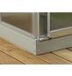 VITAVIA Fundament für Gewächshaus »5000«, verzinkter Stahl, BxL: 257 x 195 cm-Thumbnail
