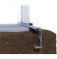 KGT Fundamentrahmen für Gewächshäuser »Flora III«, Aluminium-Thumbnail