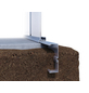 KGT Fundamentrahmen »Rose«, BxLxH: 233 x 429 x 12 cm, Aluminium-Thumbnail