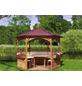 PROMADINO Fußboden für Pavillon »Palma«, B x H x T: 270 x 3 x 270 cm, braun-Thumbnail