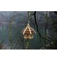DOBAR Futterhaus, für Wildvögel, Kiefernholz, natur/braun-Thumbnail