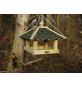 DOBAR Futterhaus mit grünen Bitumenschindeln-Thumbnail