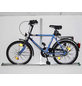 EUFAB Garagen-Wandhalter, Stahl, silbermetallic, für alle Fahrradtypen-Thumbnail