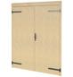 LASITA MAJA Garagentor »Hawaii und Nevis«, BxH: 239 x 202 cm, Holz, natur-Thumbnail