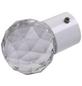 LIEDECO Gardinenendstück, Facettkugel, 20 mm, Weiß-Thumbnail