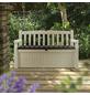 KETER Gartenbank »Garden Bench«, BxHxT: 133 x 19 x 76 cm, braun/beige-Thumbnail