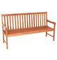 MERXX Gartenbank »Santos«, 3-Sitzer, B x T x H: 157 x 58 x 89 cm-Thumbnail