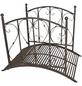 GARDEN PLEASURE Gartenbrücke »Taupo«, , Höhe: 94,5  cm, Stahl, rostfarben-Thumbnail